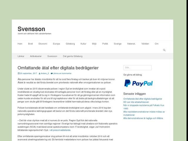 Omfattande åtal efter digitala bedrägerier