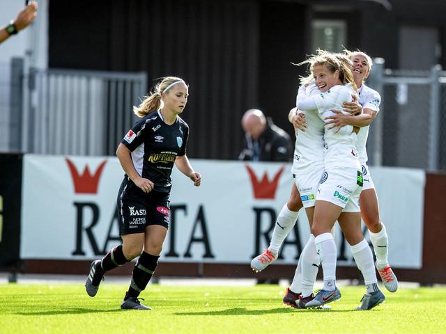 Anna och Hanna sköt bort Göteborg från guldstriden