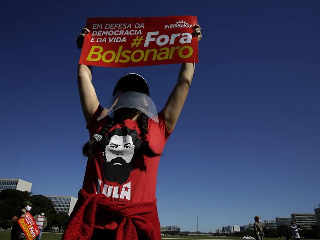 Bolsonaro kommenterar inspelning