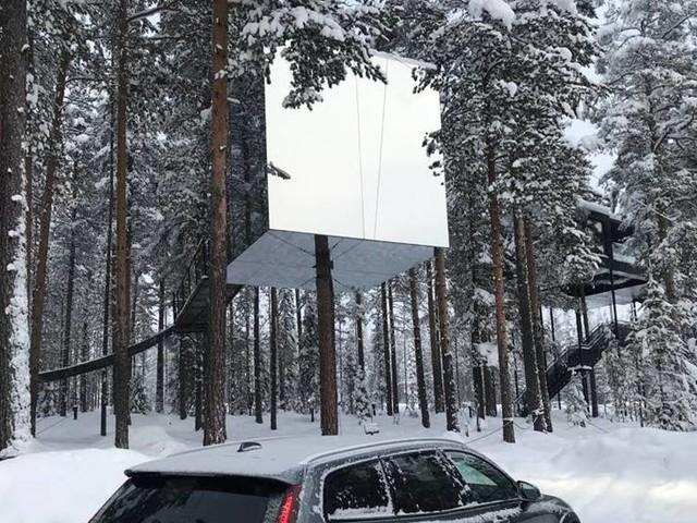 Volvo samarbetar med Treehotel