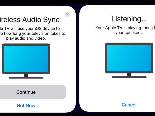 TV OS 13 tar hjälp av IOS-prylar för att fixa ljudproblem