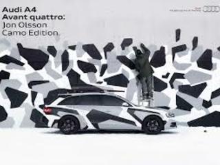 Jon Olsson vs Audi =Kamouflagestylad A4