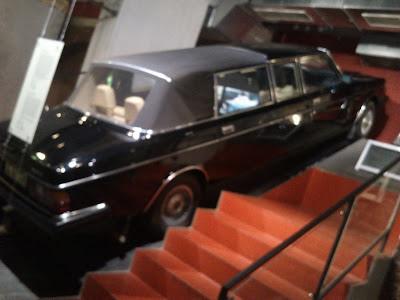 Östtysk Volvo 264 TE Landaulette byggd i Laholm
