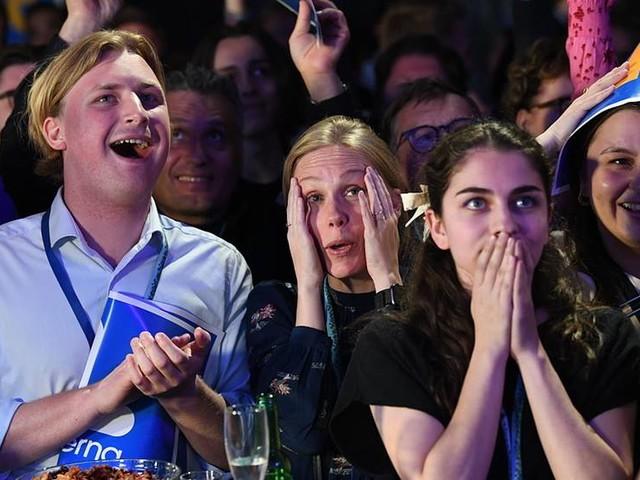 Många partier gläds över EU-valresultat