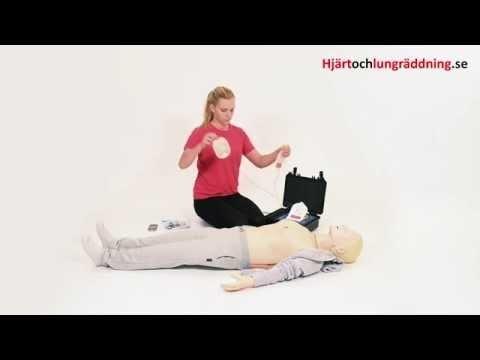 Så här gör du hjärt-lungräddning (HLR)