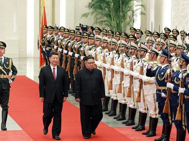 """Kim lovar Xi """"ny framtid"""" för Korea"""