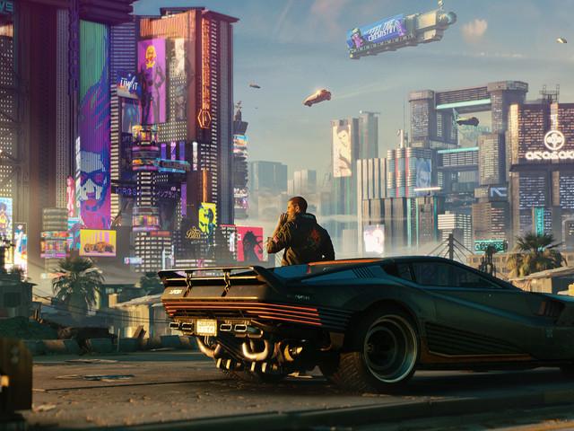 Cyberpunk 2077 nu tillbaka på Playstation Store