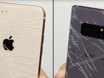 Falltest – Iphone 8 Plus mot Galaxy Note 8