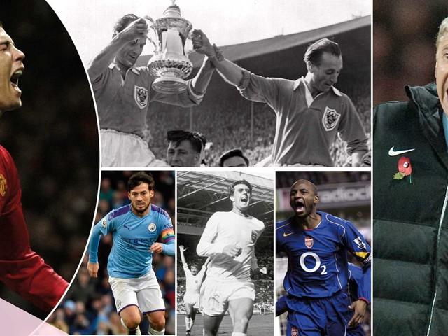 Engelsk fotbolls 100 största profiler genom alla tider