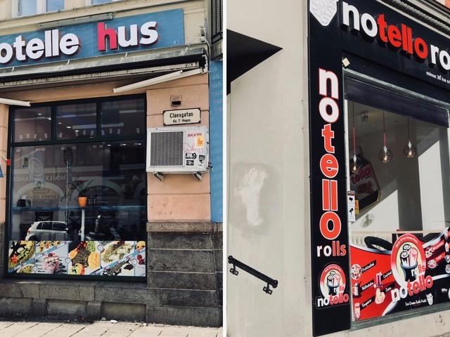 Glasskamp på Möllan – två konkurrenter öppnar butik på varsitt hörn