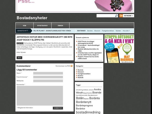 Artistduo hotar med Sverigebojkott om inte ASAP Rocky släpps fri