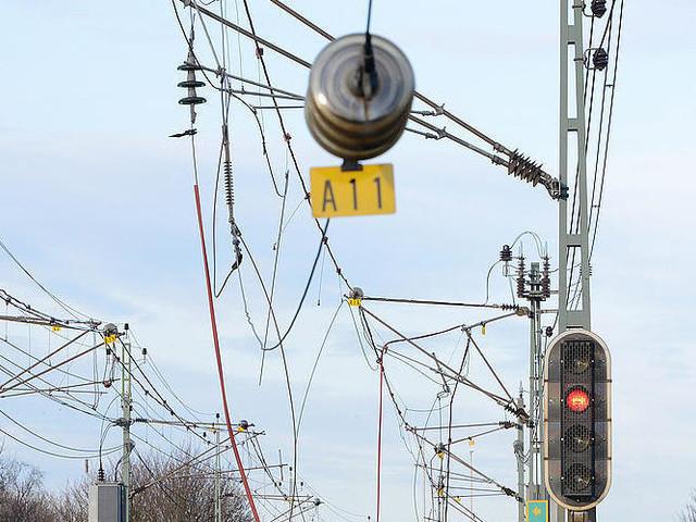 Nedriven ledning stoppar tåg i Bohuslän