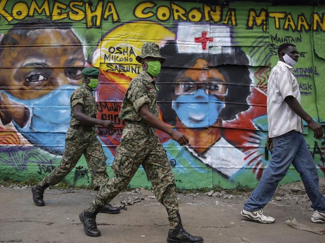 Kenya utreder misstänkt coronasvindleri