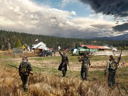 Far Cry 5 - VI pratar med Phil Fournier
