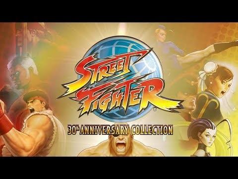 Capcom firar att Street Fighter fyller 30 år