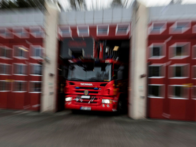 Brand i radhus på Segevång