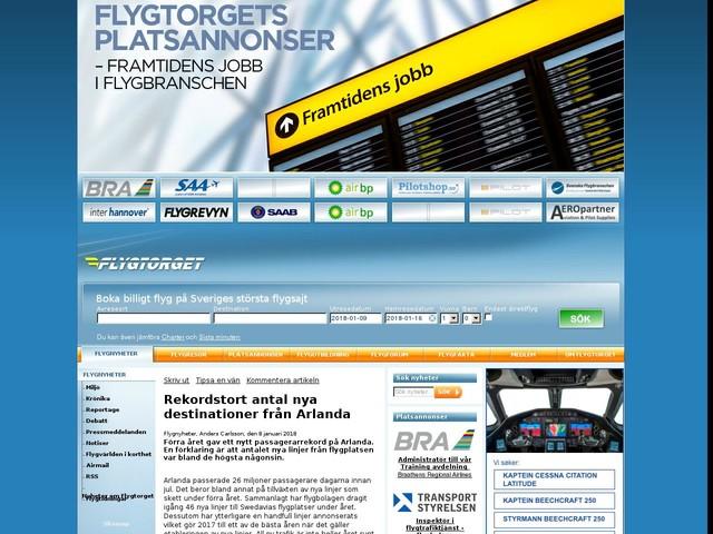 Rekordstort antal nya destinationer från Arlanda