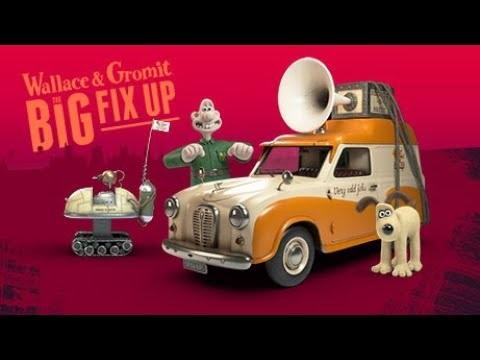 Trailer för Wallace & Gromit: The Big Fix Up