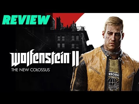 GameSpot recenserar Wolfenstein II: The New Colossus