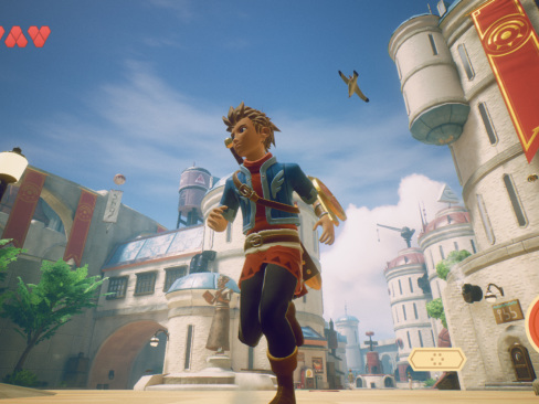 Nya bilder från Oceanhorn 2: Knights of the Lost Realm