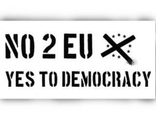 Tyst om EU och förlorat folkstyre i valrörelsen