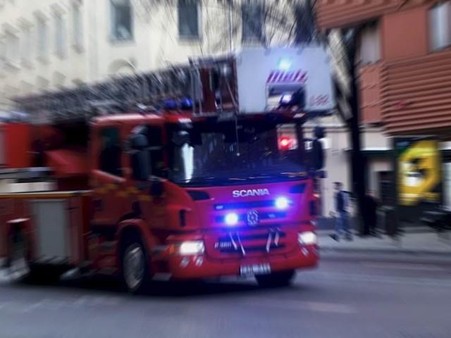 Allvarligt skadad i Malmöbrand