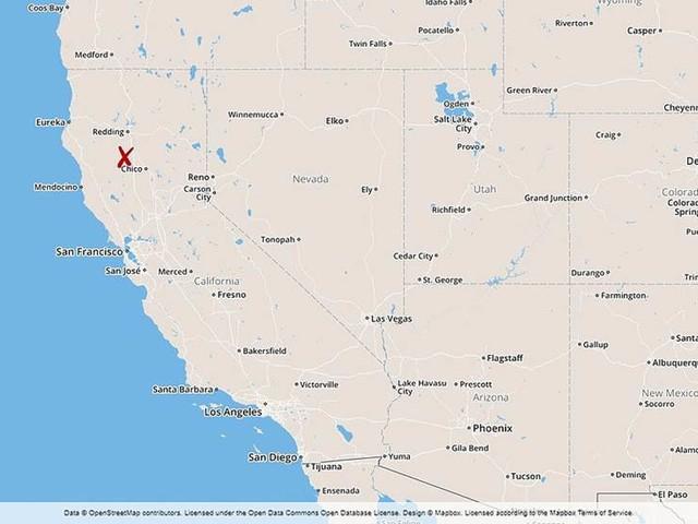 Tre döda i skjutning i norra Kalifornien