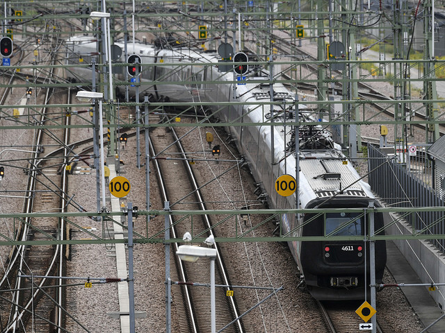 Inga tåg på Öresundsbron efter olycka