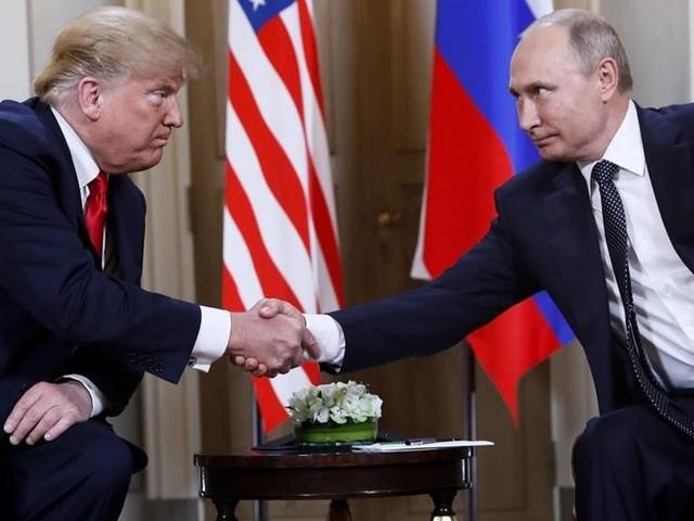 Trump och Putin möts under G20