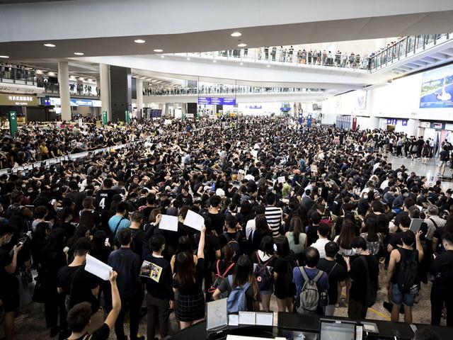 Hongkong förbereder sig på fler protester