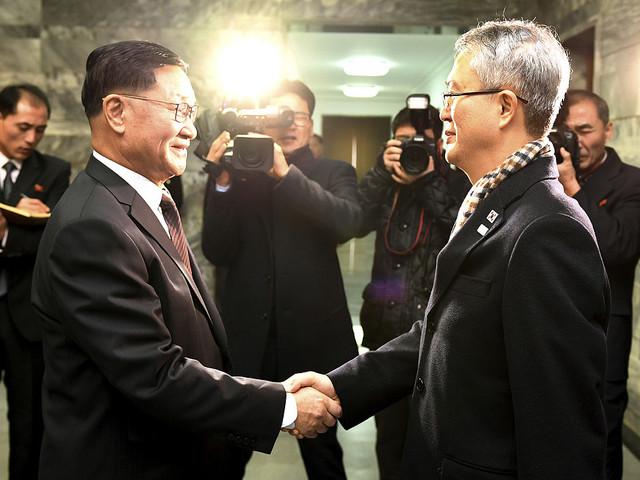 Nord- och Sydkorea har påbörjat samtal