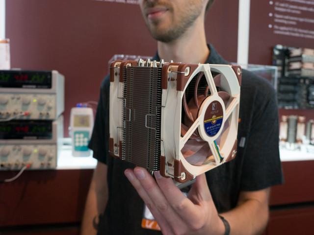 Noctua inkluderar monteringskit för sockelAM4 vid köp av processorkylare