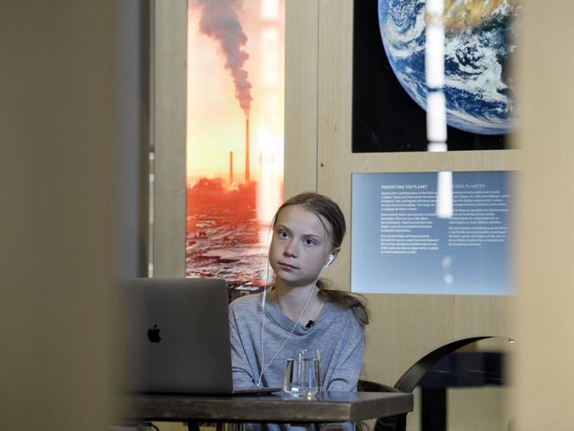 Greta Thunberg: Sverige har gett upp