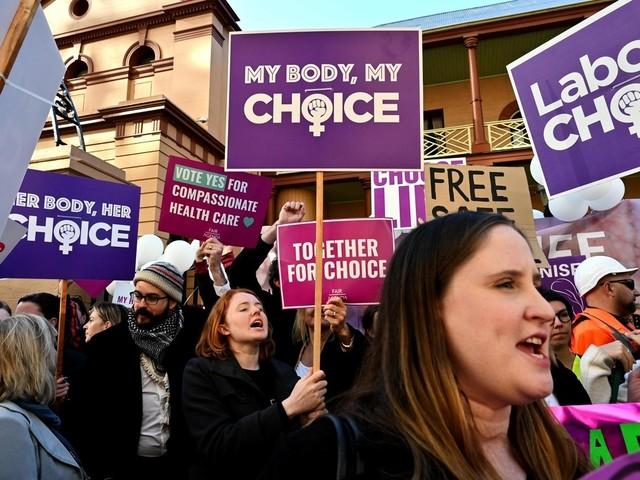 Abort blir lagligt i hela Australien