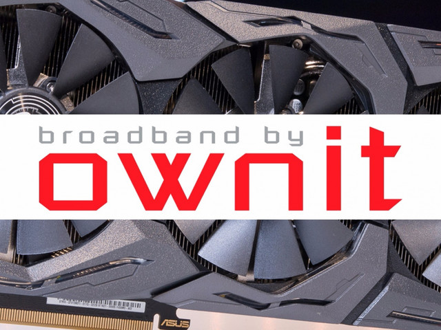 Tävla och vinn ett Geforce GTX1080Ti med bredbandsleverantören Ownit