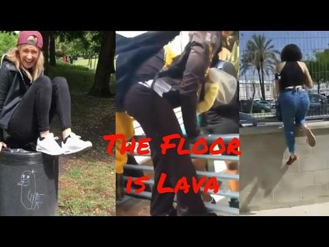 The Floor is Lava är sommarens planking
