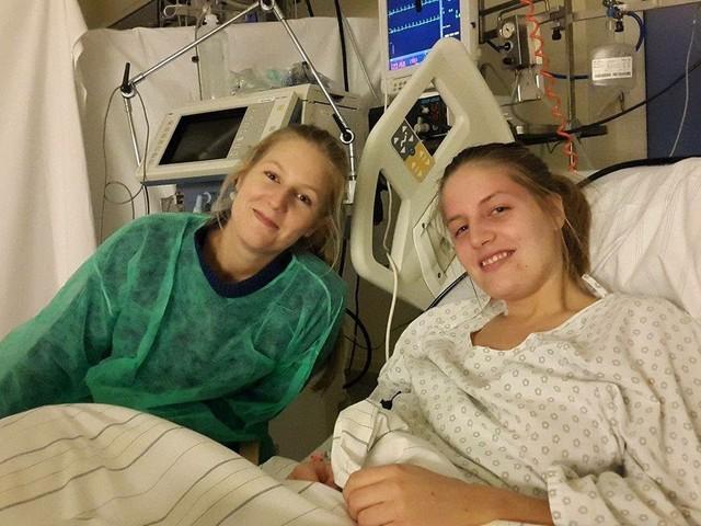 Hennes hjärta stannade – tre månader senare spelade hon handboll igen