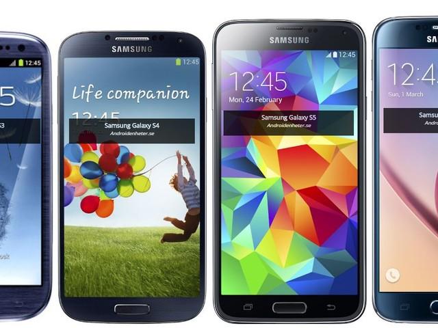 Så här har designen för Samsungs, Sonys, LGs och HTCs flaggskepp förändrats sedan 2010