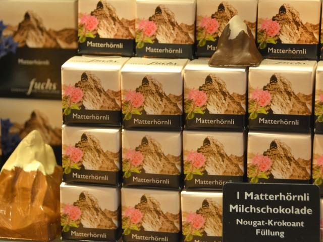 Schweizisk choklad – familjebageri i Zermatt