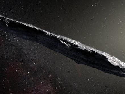 Säg hej till asteroiden Oumuamua