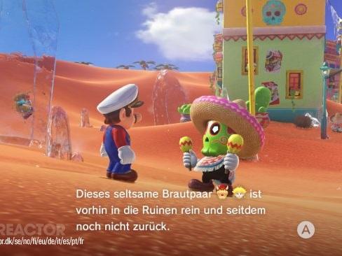 GRTV videorecenserar Super Mario Odyssey