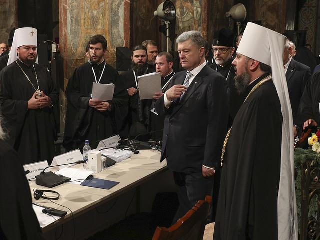 Oberoende ortodox kyrka bildad i Ukraina