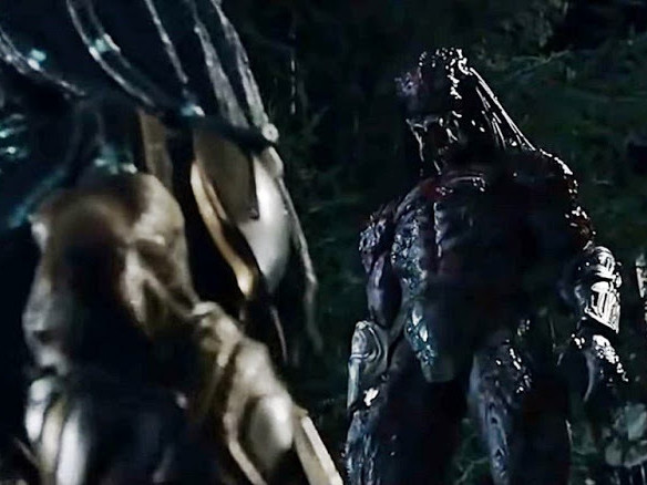 Shane Black kommenterar odjuret i The Predator