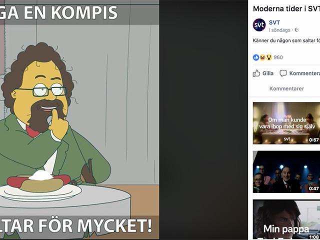 """Kritik mot SVT efter """"Tagga en kompis""""-inlägg på Facebook"""