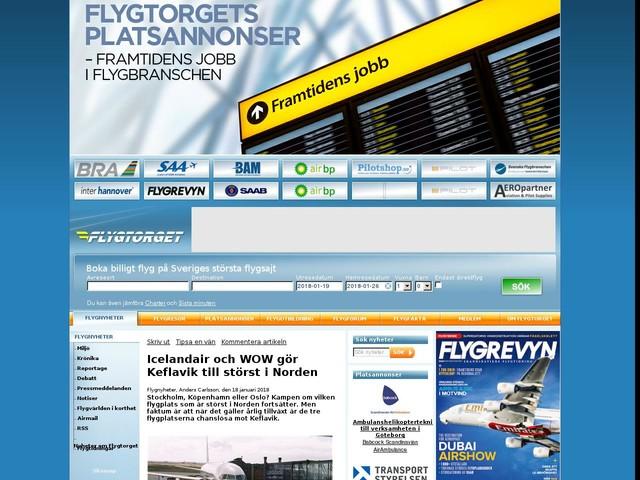Icelandair och WOW gör Keflavik till störst i Norden