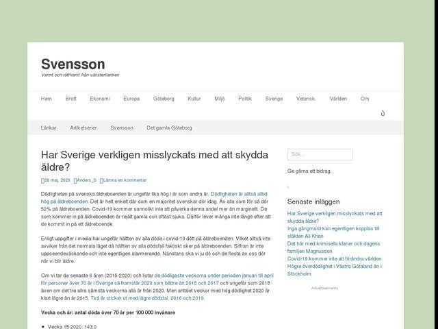 Har Sverige verkligen misslyckats med att skydda äldre?