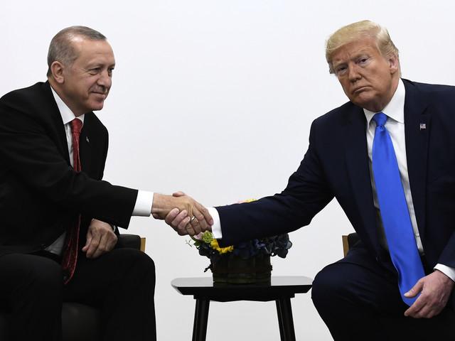 Erdogan träffar Trump i Vita huset