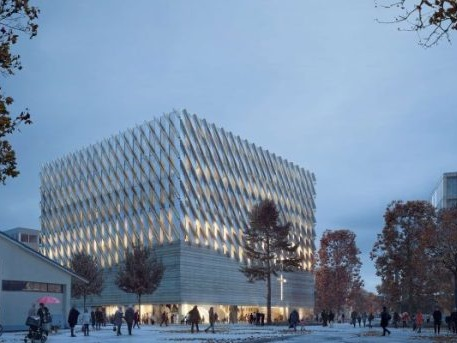 Kallt, obehaglig, fult – den första nya byggnaden i Frihamnen
