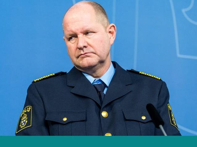 Poliser jublade efter Dan Eliassons avgång – kritiseras