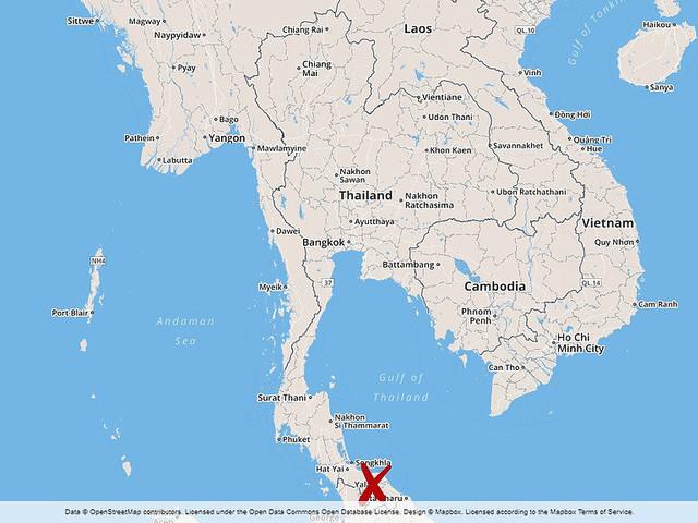 Bomb dödade tre i Thailand